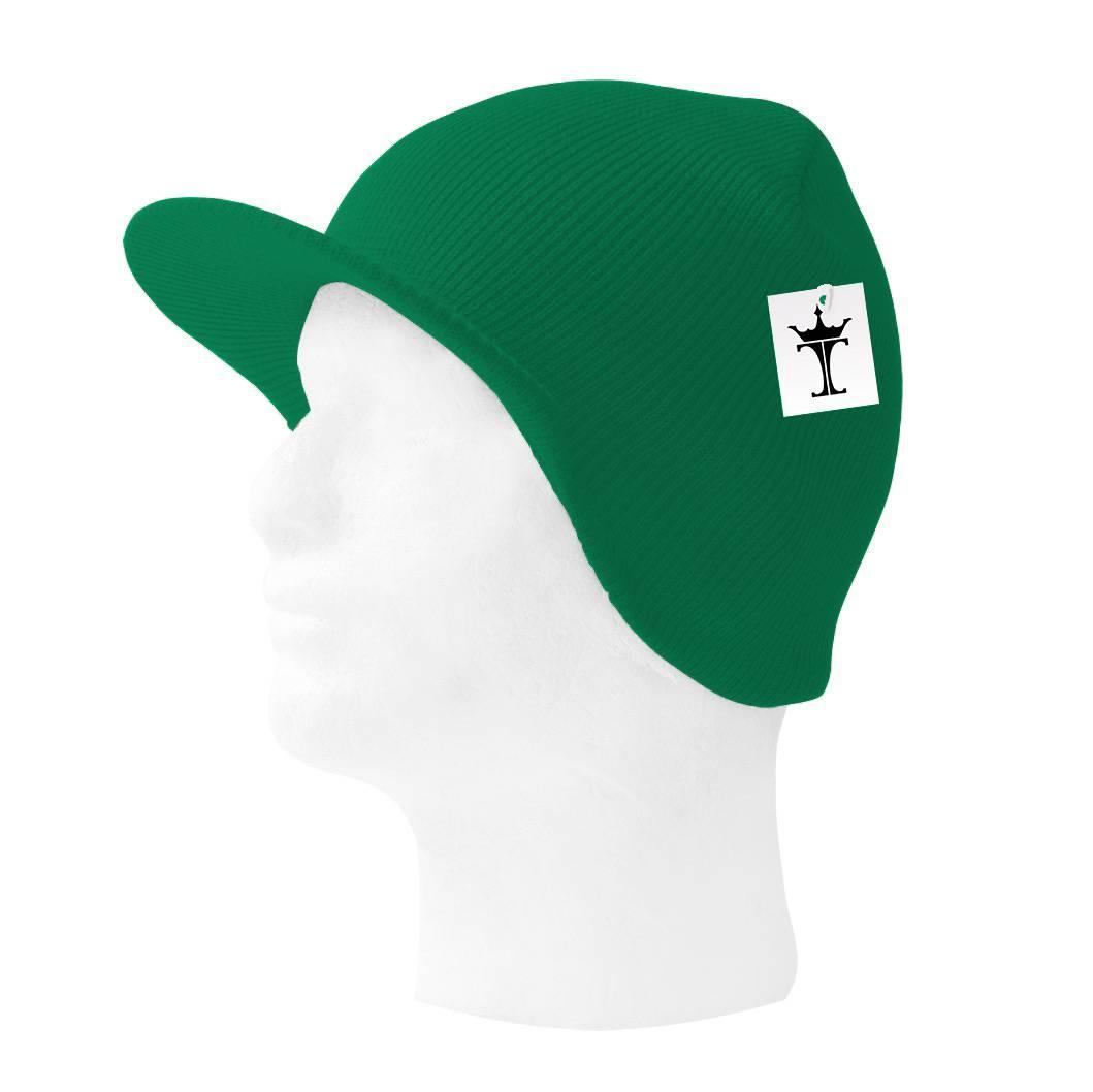 TopHeadwear-Cuffless-Beanie-Cap-with-Visor thumbnail 10