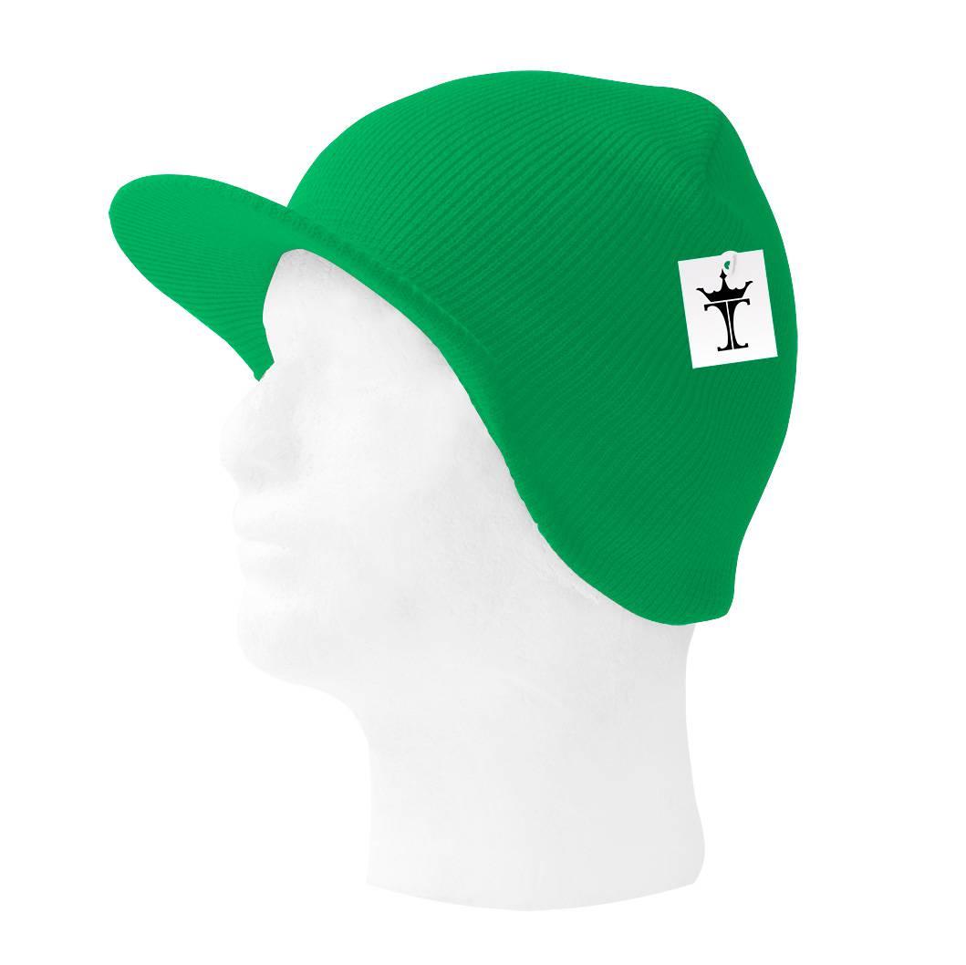 TopHeadwear-Cuffless-Beanie-Cap-with-Visor thumbnail 15