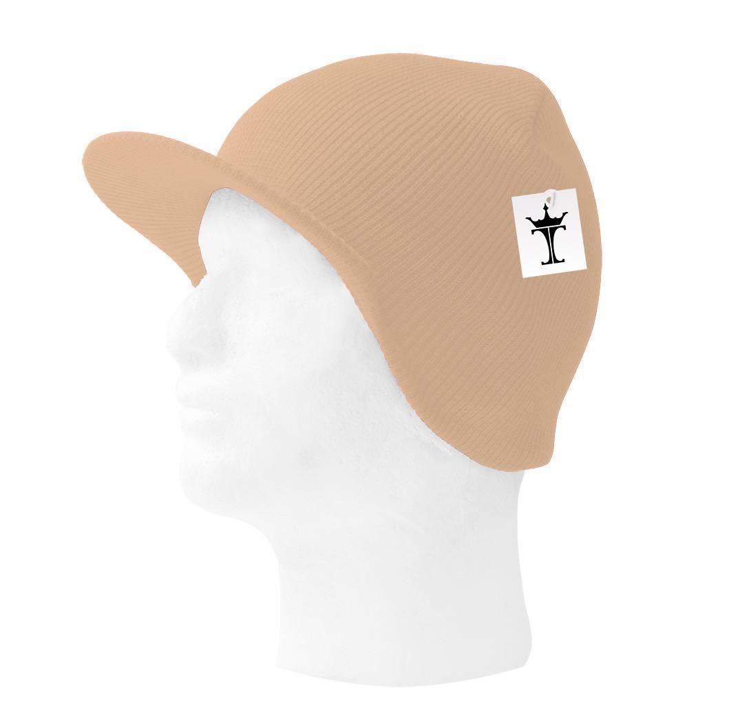 TopHeadwear-Cuffless-Beanie-Cap-with-Visor thumbnail 4