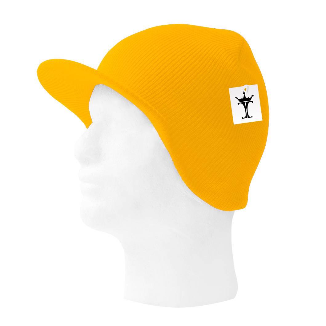 TopHeadwear-Cuffless-Beanie-Cap-with-Visor thumbnail 32