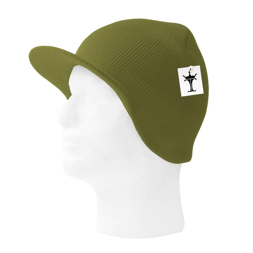TopHeadwear-Cuffless-Beanie-Cap-with-Visor thumbnail 30