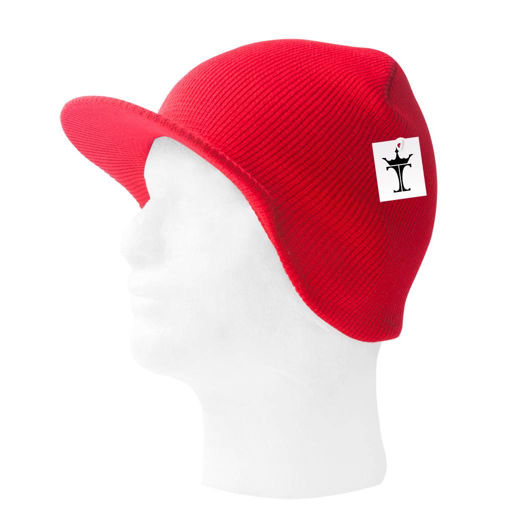 TopHeadwear-Cuffless-Beanie-Cap-with-Visor thumbnail 38