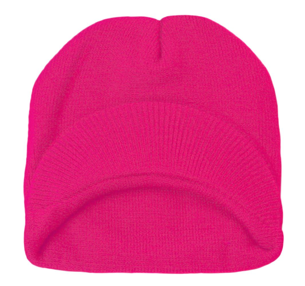 TopHeadwear-Cuffless-Beanie-Cap-with-Visor thumbnail 18