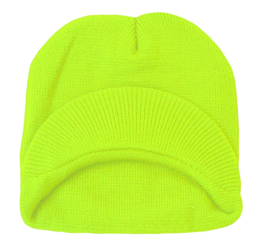 TopHeadwear-Cuffless-Beanie-Cap-with-Visor thumbnail 25