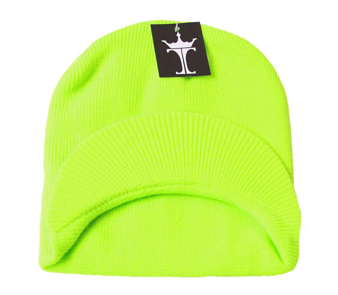 TopHeadwear-Cuffless-Beanie-Cap-with-Visor thumbnail 24