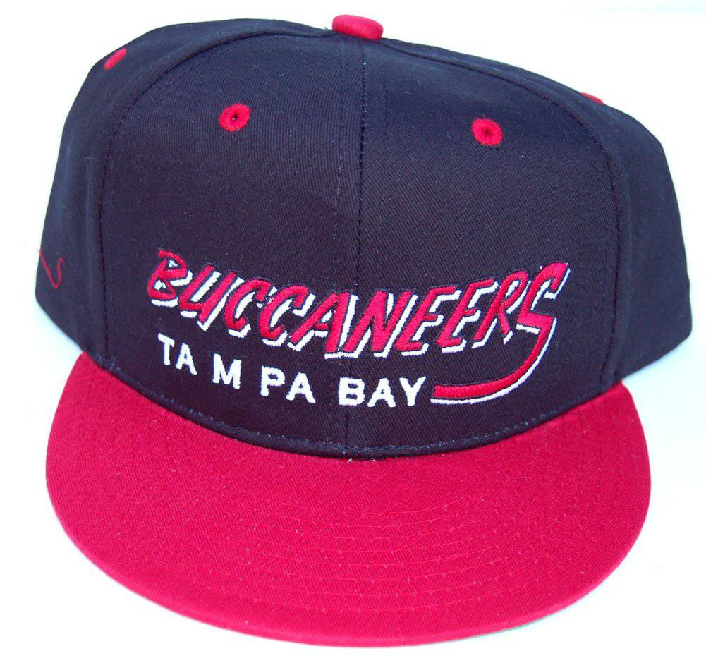 Details about Vintage Tampa Bay Buccaneers Flatbill Snapback Cap Hat a212aef0f752