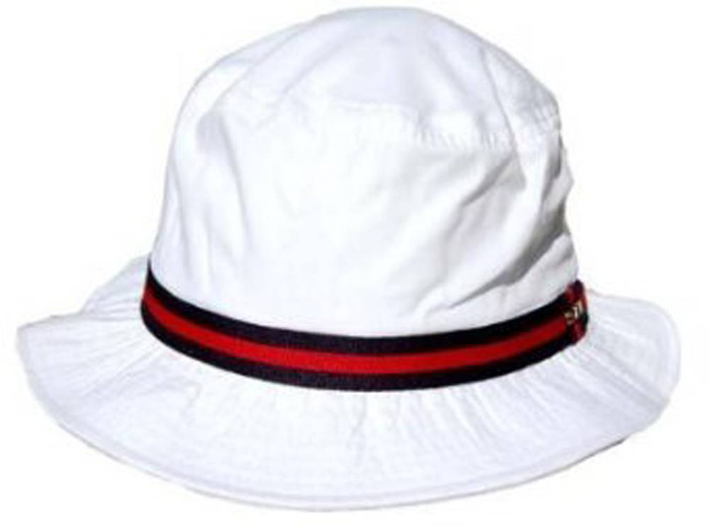 f3686ddc5575f Details about Scala Classico Rain Hat - Bucket Hat by Dorfman Pacific  (White Small)