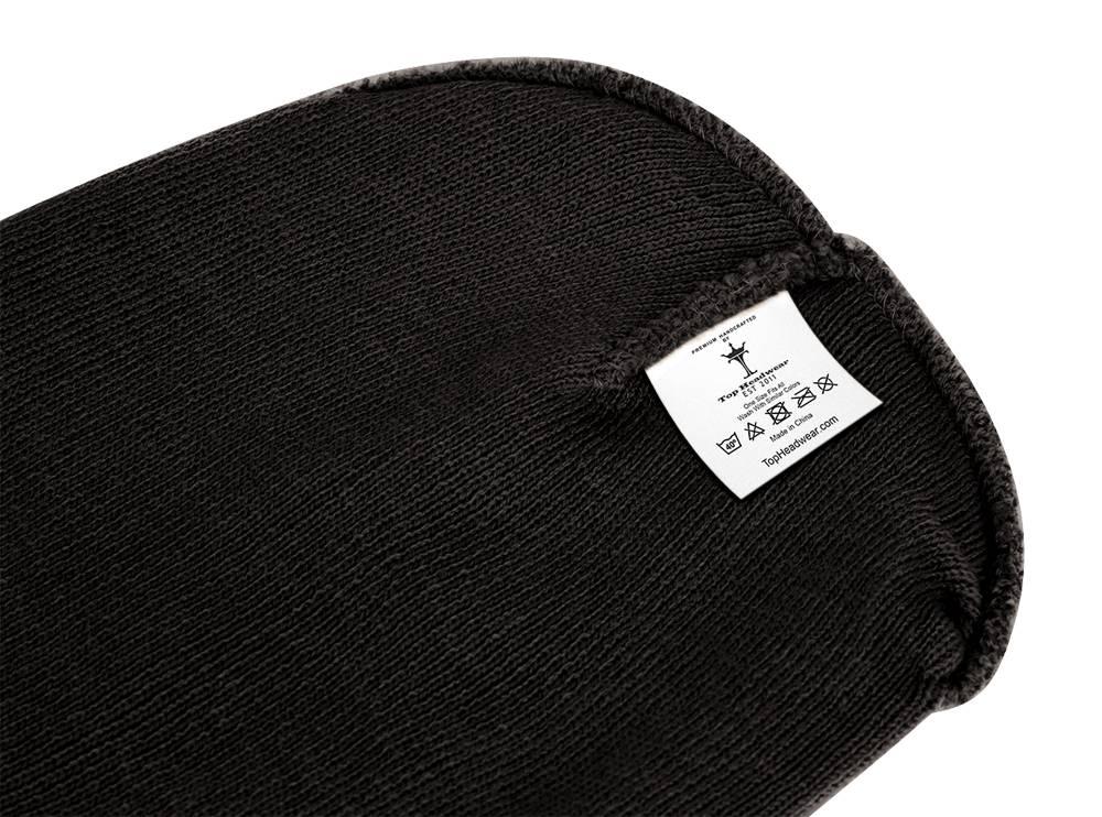 thumbnail 8 - Top Headwear Solid Winter Long Beanie - 12 Piece Wholesale