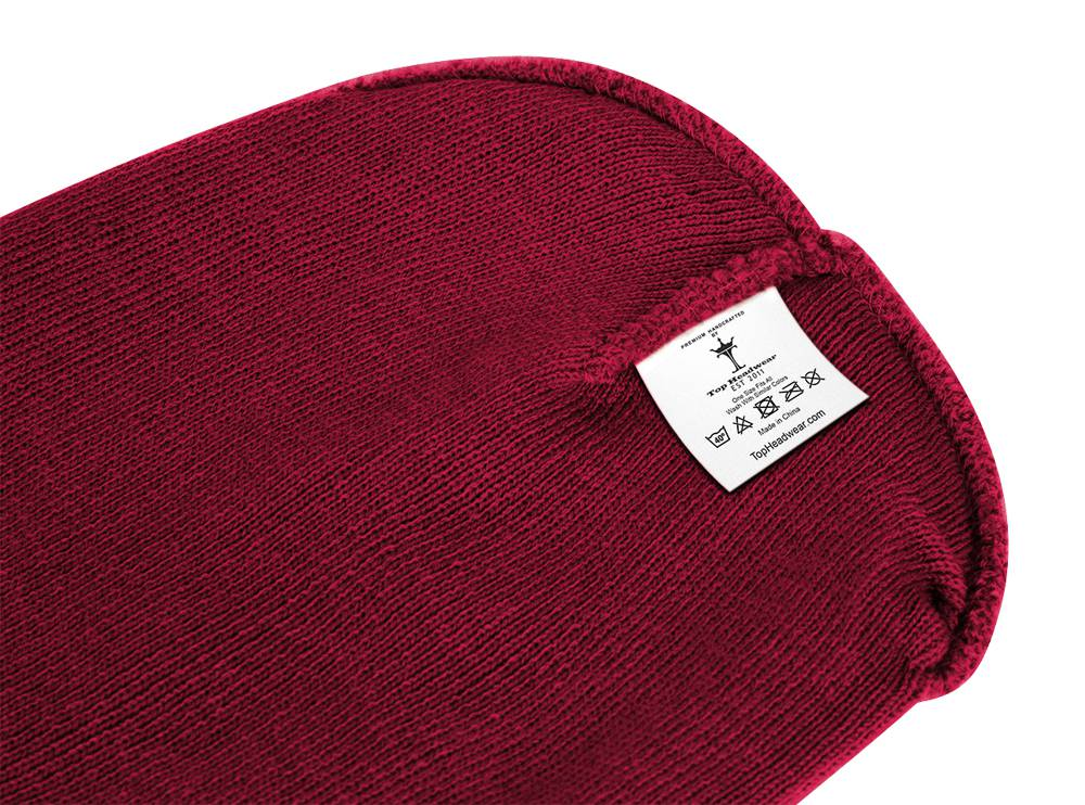 thumbnail 16 - Top Headwear Solid Winter Long Beanie - 12 Piece Wholesale