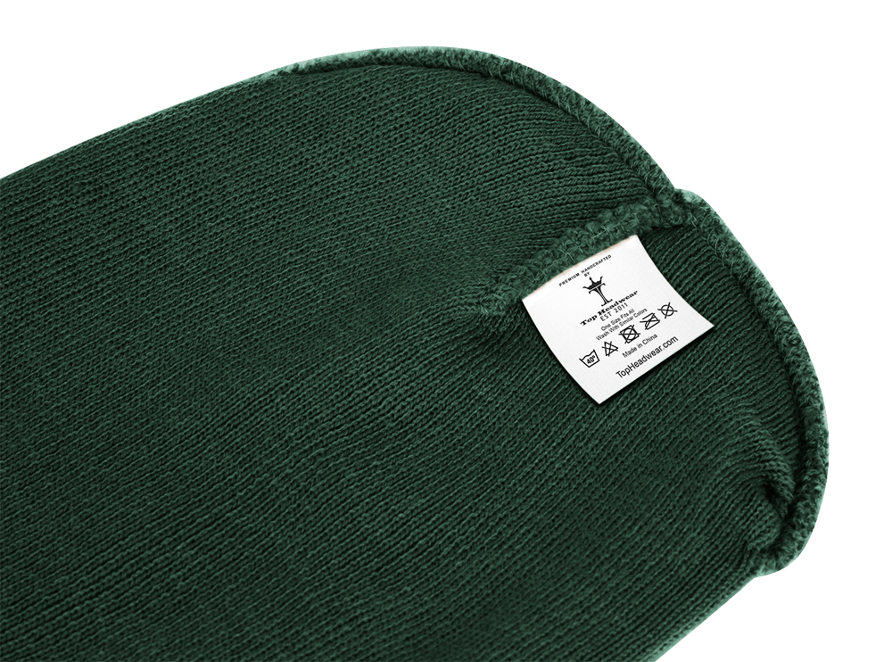 thumbnail 24 - Top Headwear Solid Winter Long Beanie - 12 Piece Wholesale
