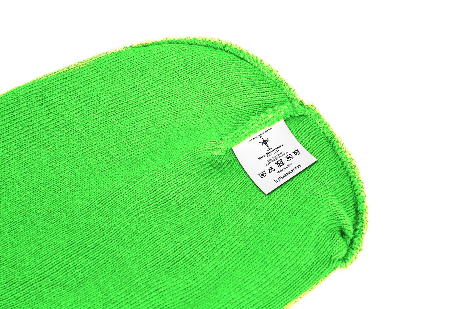 thumbnail 55 - Top Headwear Solid Winter Long Beanie - 12 Piece Wholesale