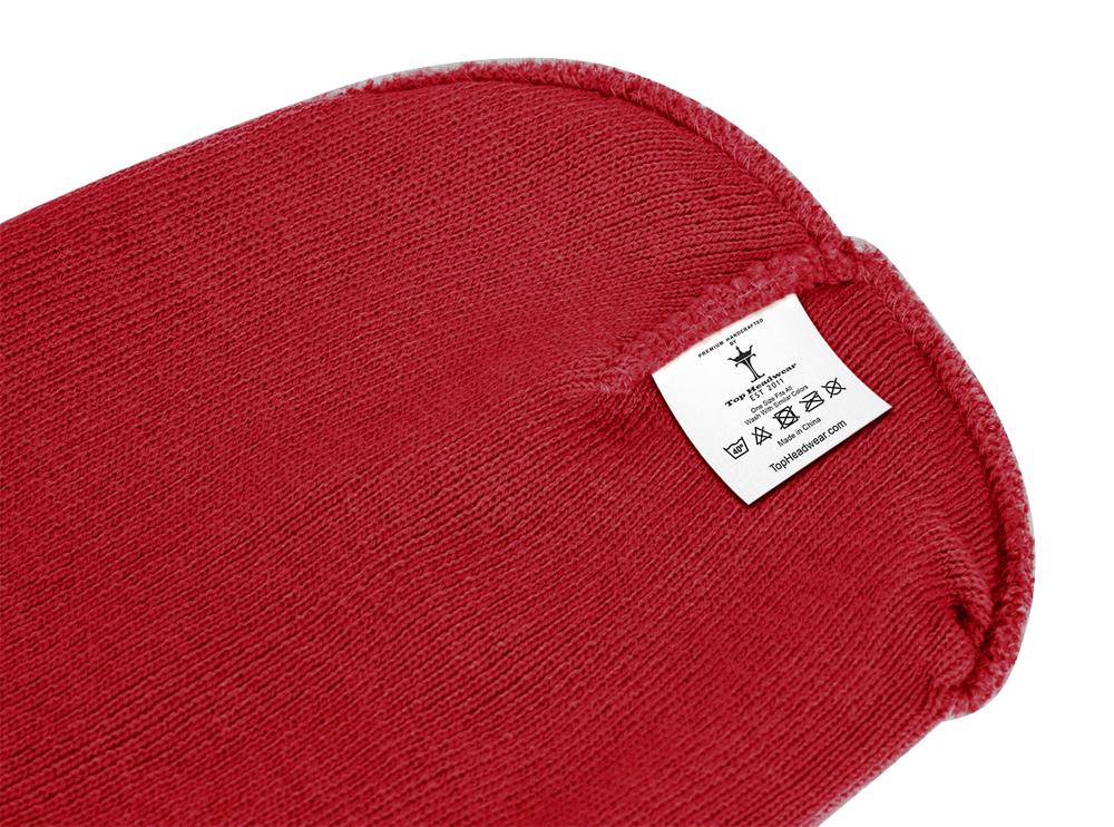 thumbnail 75 - Top Headwear Solid Winter Long Beanie - 12 Piece Wholesale