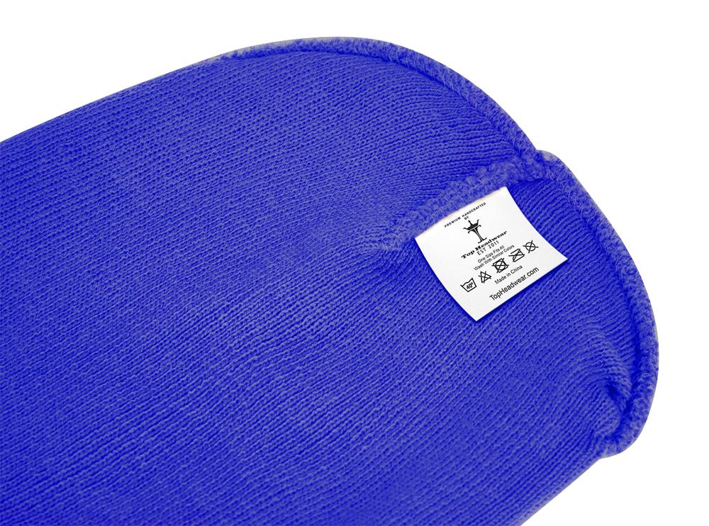 thumbnail 79 - Top Headwear Solid Winter Long Beanie - 12 Piece Wholesale