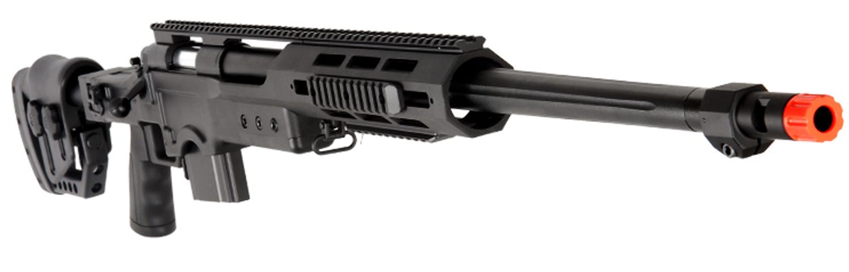 Well MB4411B Bolt Action Airsoft SNIPER Rifle RIS RAIL ... M14 Ebr Rifle