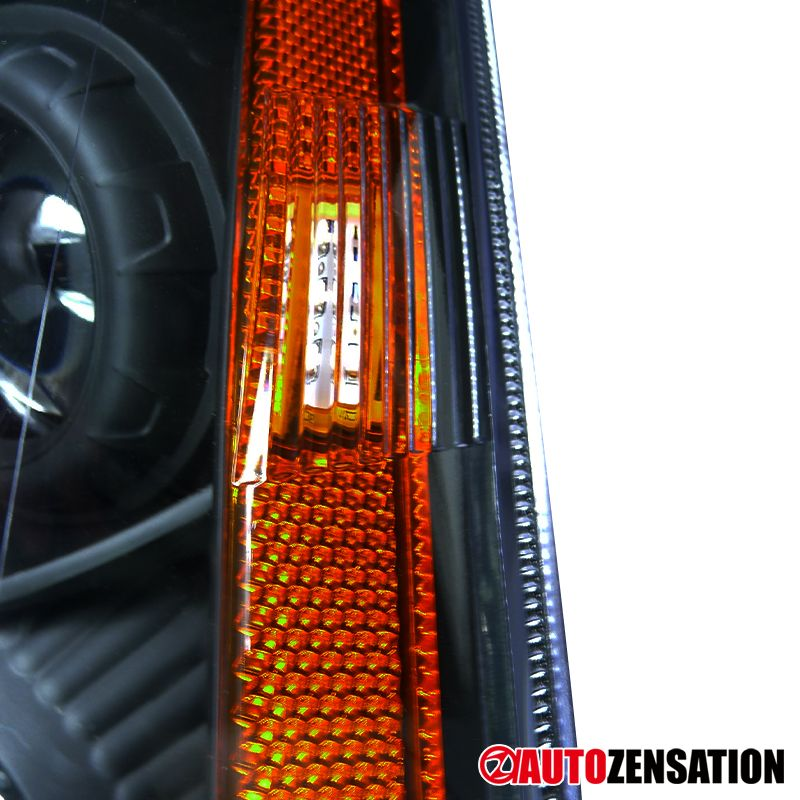 For 2008 2014 Cadillac Cts Smd Led Drl Black Clear