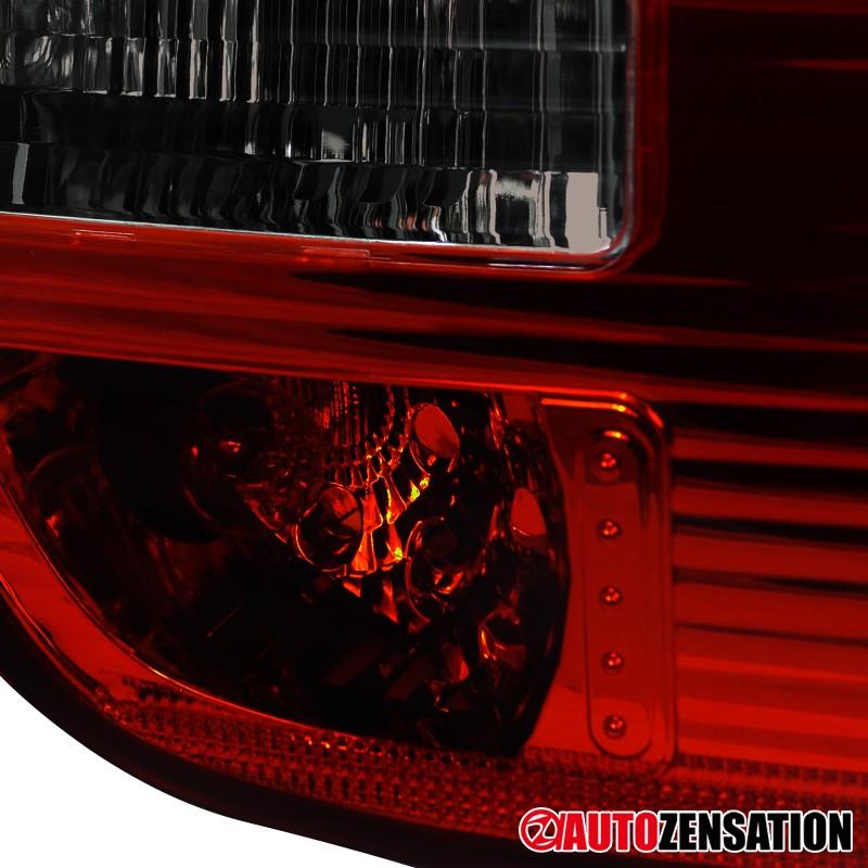 00 05 bmw e53 x5 red smoke tail trunk lights rear brake. Black Bedroom Furniture Sets. Home Design Ideas