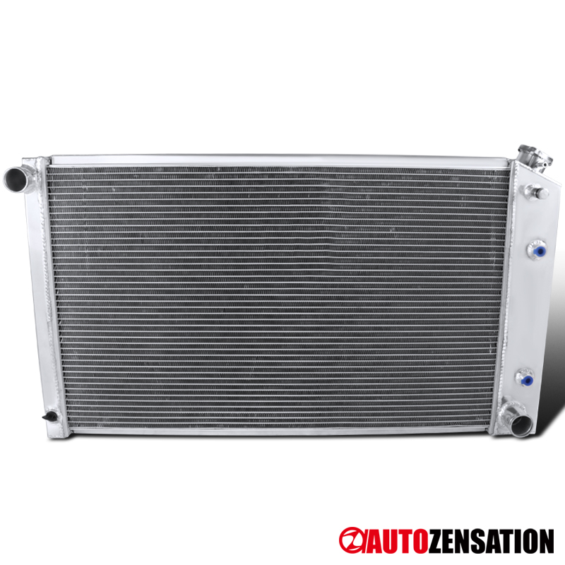 4 Row Radiator For Chevy Chevelle 1968-1973// Chevy El Camino 1968-1977 1969 1976