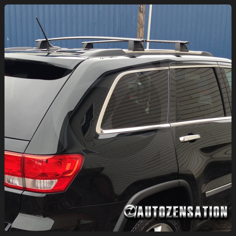 2011 2018 Jeep Grand Cherokee (Only Fits Models With Existing Roof Rails)  (Doesnu0027t Fit SRT Model)