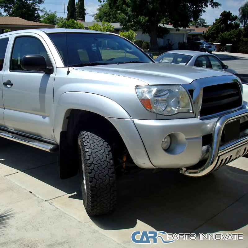 toyota 2005 2011 tacoma pre runner x runner jdm headlights chrome clear lamps ebay. Black Bedroom Furniture Sets. Home Design Ideas