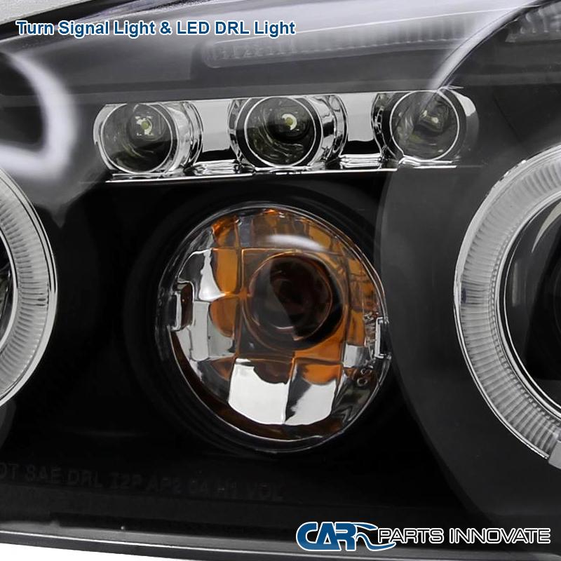 2004-2007 Chevy Malibu LS LT Replacement Black LED Halo