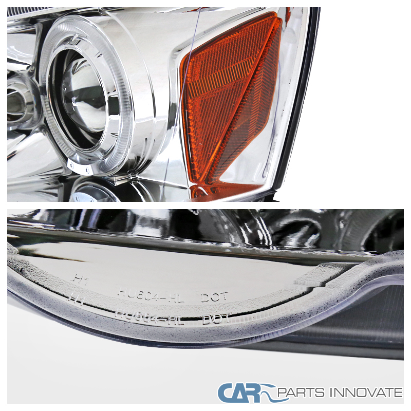 Acura 02-04 RSX DC5 Clear LED Halo Projector Headlights