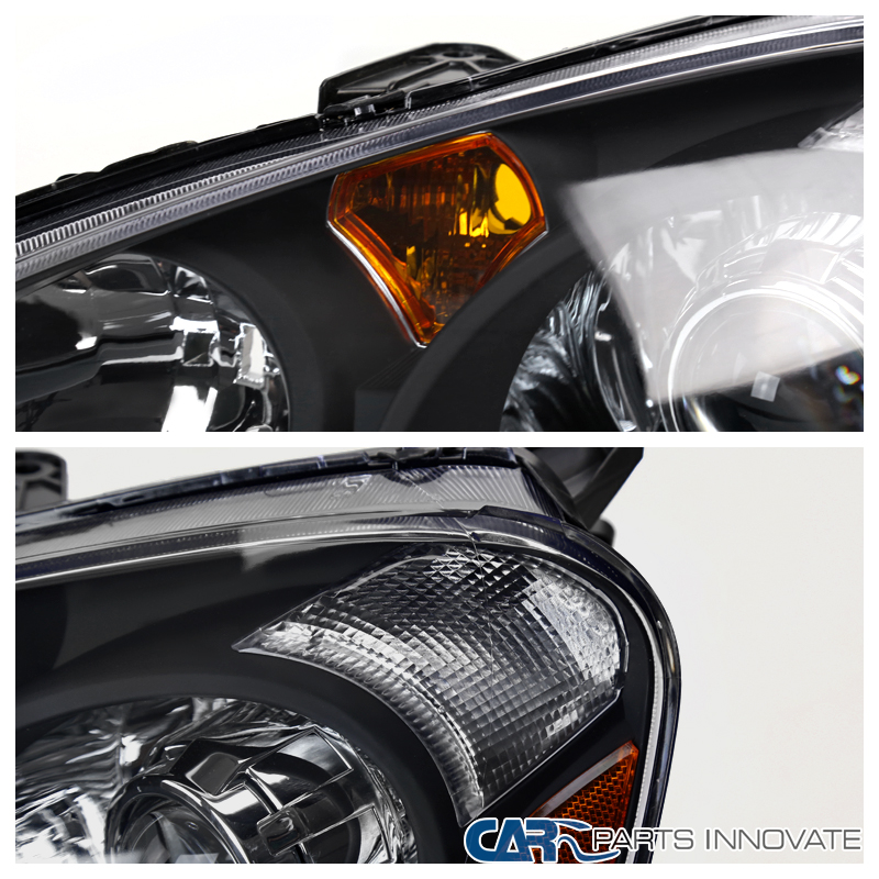02-04 Acura RSX DC5 Retro Style Replacement Black