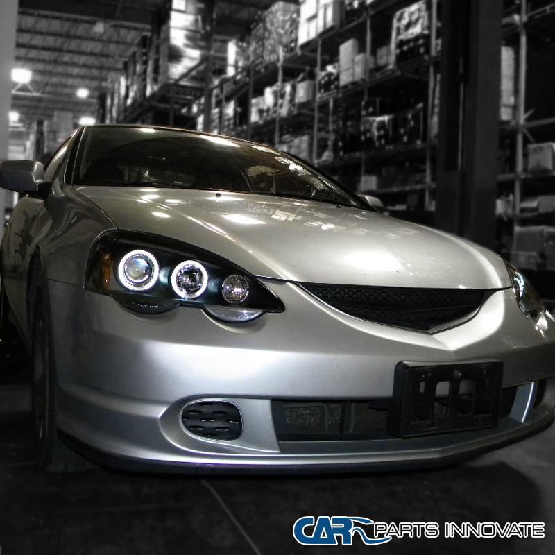 Acura 2002-2004 RSX DC5 LED Halo Projector Headlights