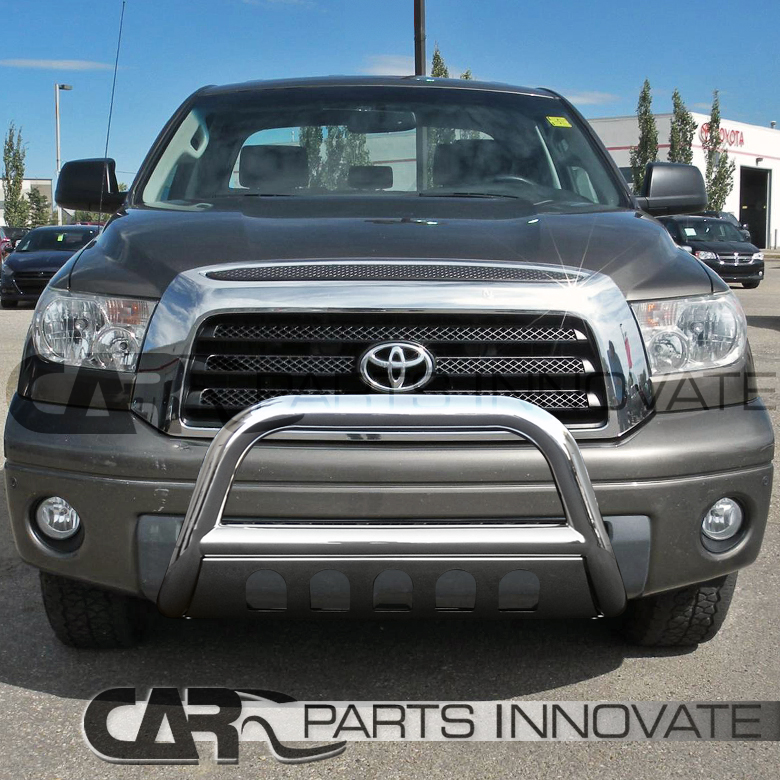 For 2007 2019 Toyota Tundra 08 19 Sequoia 4pc Stainless