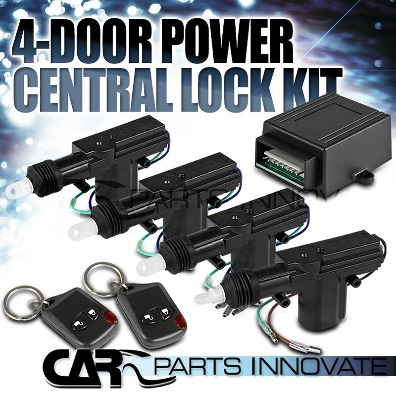 Power Door Lock Kit W Keyless Entry Image Collections Doors Design