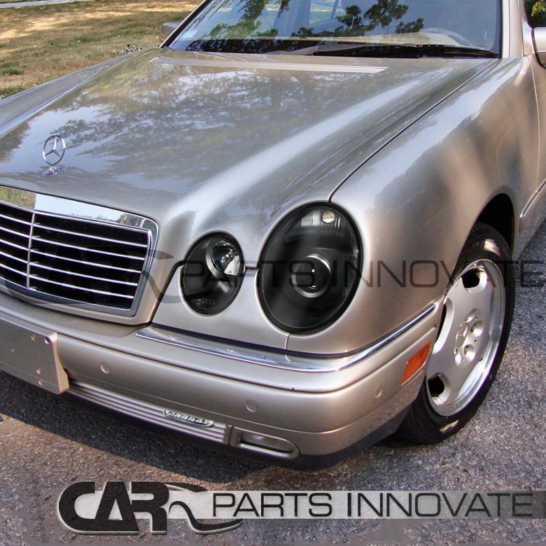 Benz 96 99 W210 E Class E300 E320 Black Projector