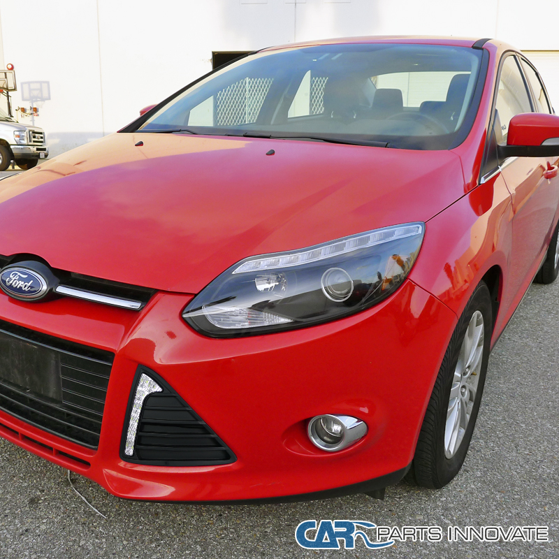 2012 2014 ford focus clear fog lights driving bumper lamp w bulbs switch ebay. Black Bedroom Furniture Sets. Home Design Ideas