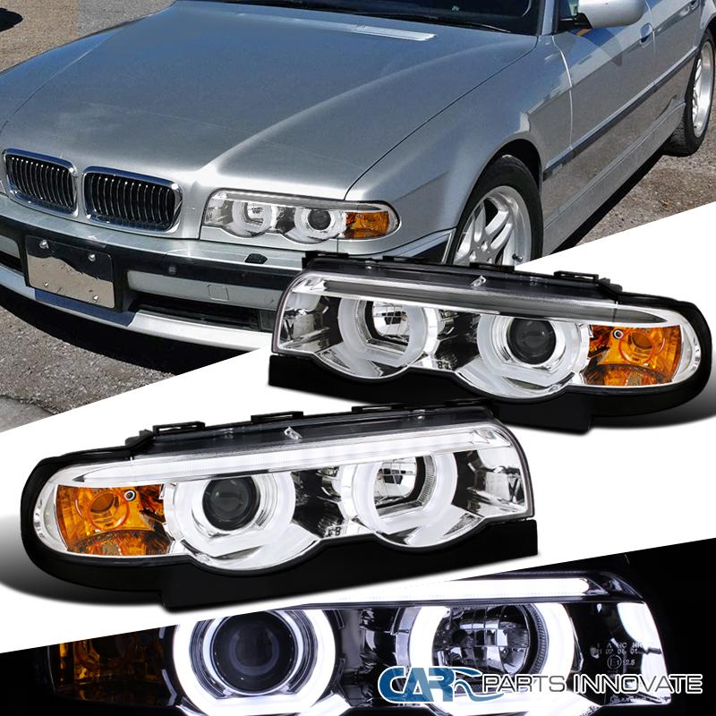 95-01 BMW E38 7-Series 740i 740iL 750iL Chrome LED Iced