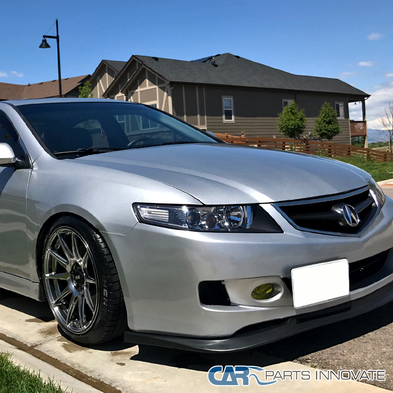 Acura 04-05 TSX 4Dr Sedan JDM Replacement Black Projector