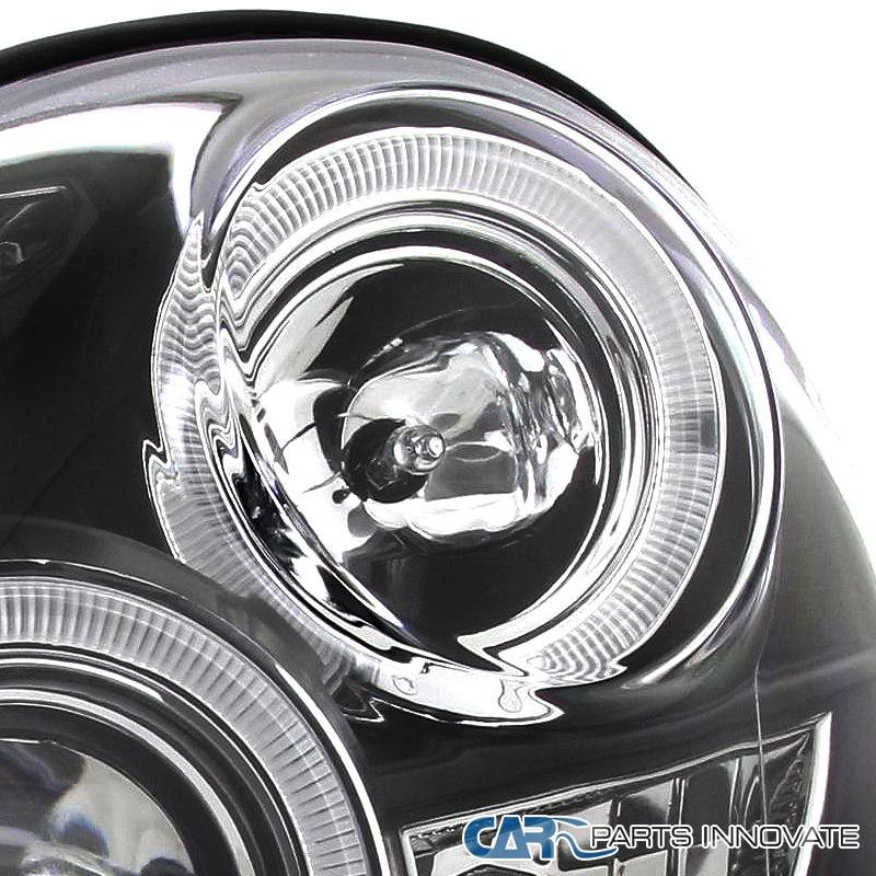 Per Subaru 02-03 Impreza Wrx Led Halo Projector Headlights-5449