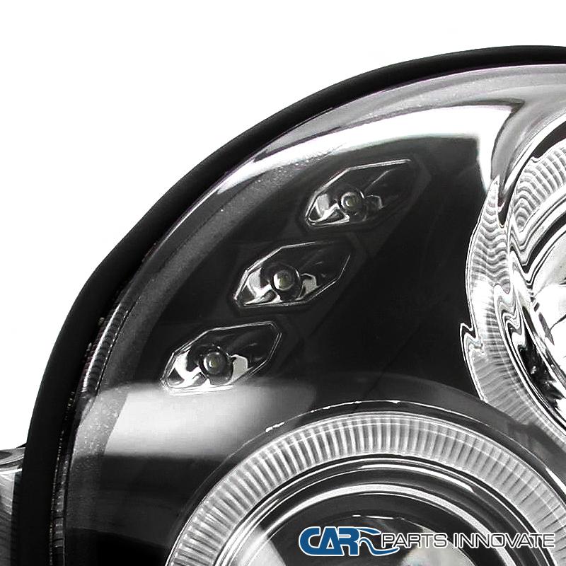 Per Subaru 02-03 Impreza Wrx Led Halo Projector Headlights-8680