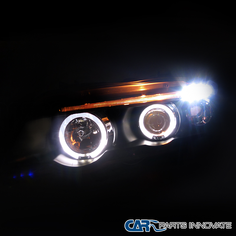 01-03 Bmw E53 X5 Sostituzione Halo Led Black Projector-7335