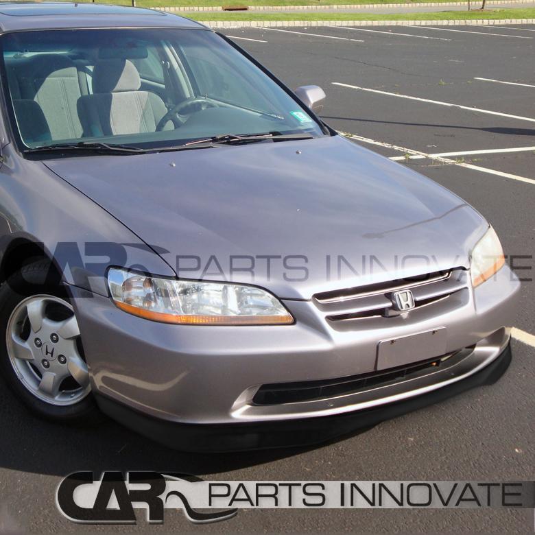 For 1998-2000 Honda Accord 4Dr Sedan Black ABS Type Add-On
