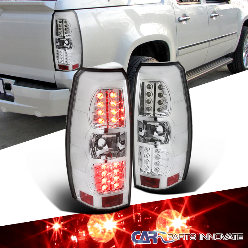 chevy 07 12 avalanche led tail lights brake stop rear lamp. Black Bedroom Furniture Sets. Home Design Ideas
