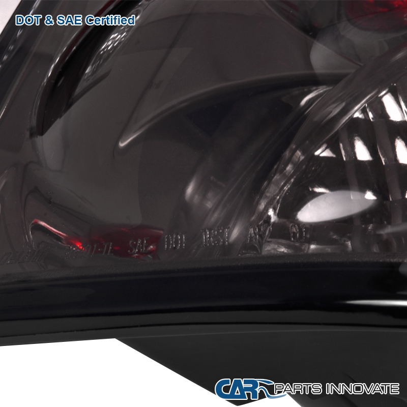 Details about Chevy 02-09 Trailblazer Smoke Lens Tail Lights Tinted Rear  Brake Lamps Pair