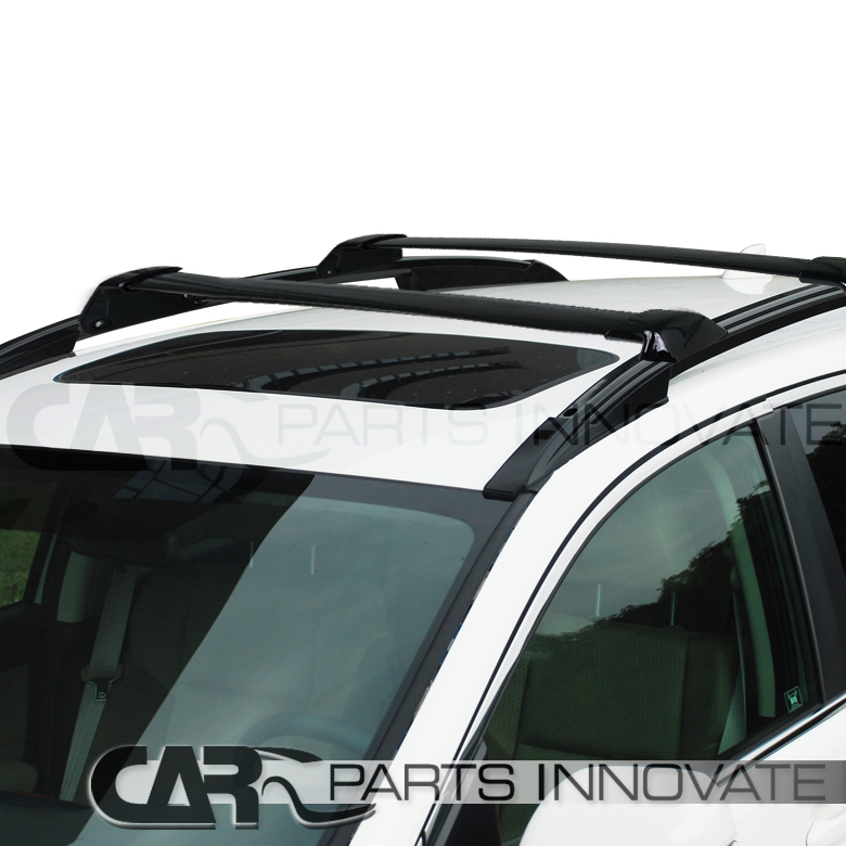 Fit 2012 2015 Honda CRV Black Roof Top Cross Bars Crossbars Rack ...