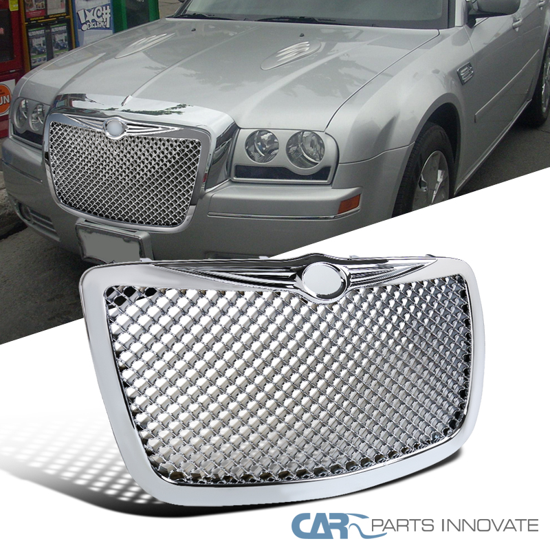 05-10 Chrysler 300 300C Front Chrome ABS Mesh Honeycomb