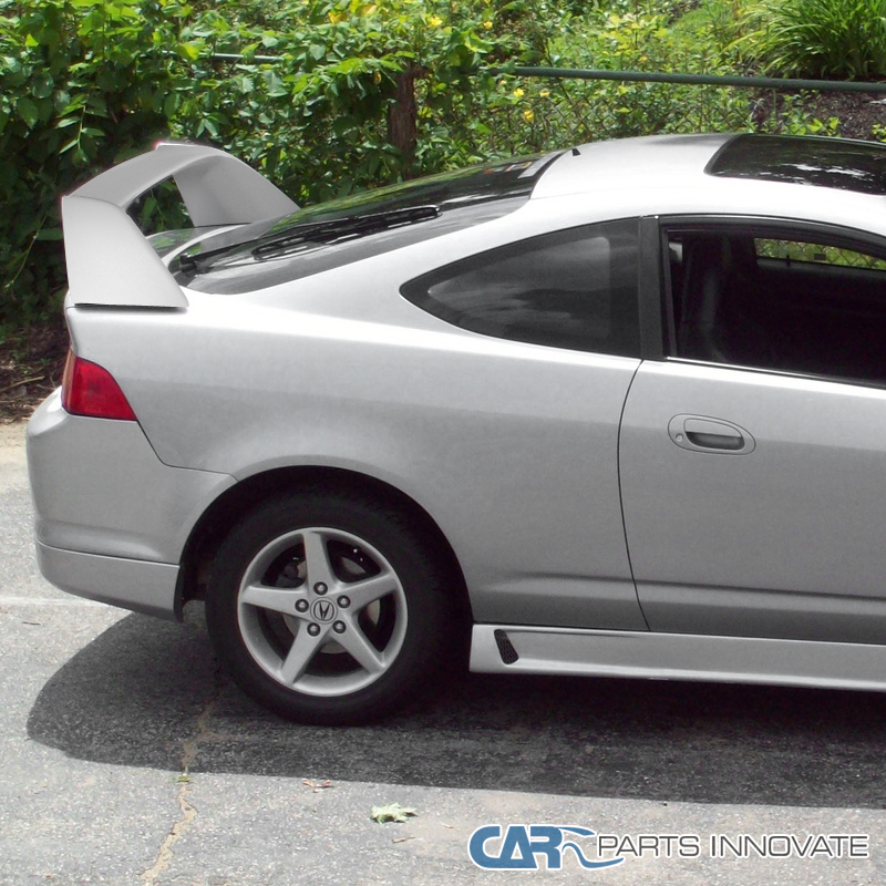 2002-2006 Acura RSX Fiber Glass Type White Rear Trunk