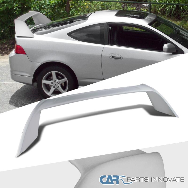 2002-2006 Acura RSX Fiber Glass Type White Rear Trunk