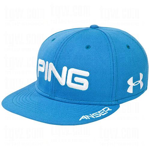3c226020d86 Limited Ping Golf 2012 Hunter Mahan Flatbill Hat Under Armour Royal ...