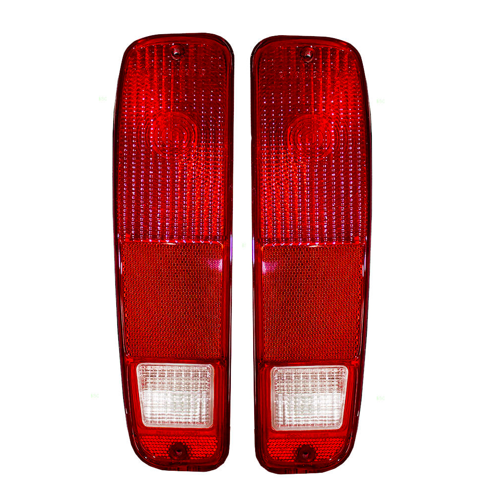 new pair of tail lights fit ford f 250 f 350 f100 f150 1975 79 bronco d4tz13404a ebay. Black Bedroom Furniture Sets. Home Design Ideas