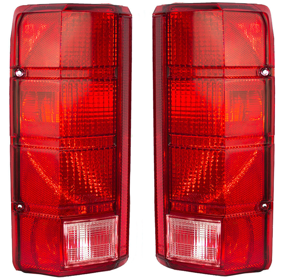 New Tail Light Pair Fits Ford F 100 1980 1983 Bronco F250 Fo2801102 Aftermarket Parts E4tz 13404 B