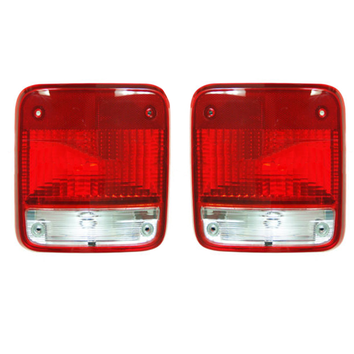 new pair of tail lights fits chevrolet g10 g20 1985 1995. Black Bedroom Furniture Sets. Home Design Ideas