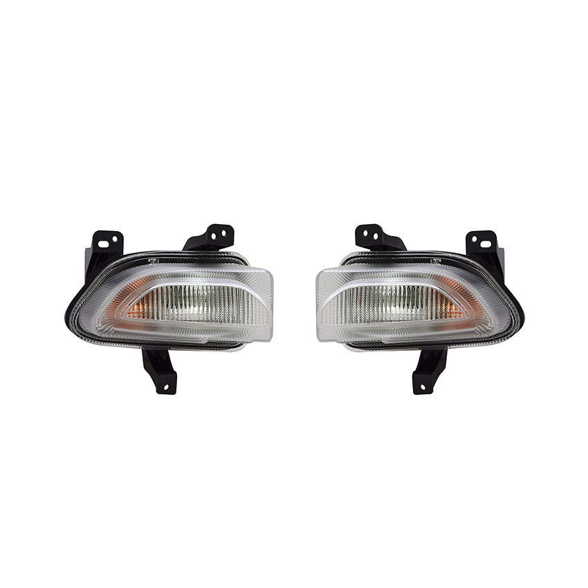 New Front Left Driver Side Turn Signal//Parking Light Assembly For 2015-2018 Jeep Renegade CH2530105 68256432AA
