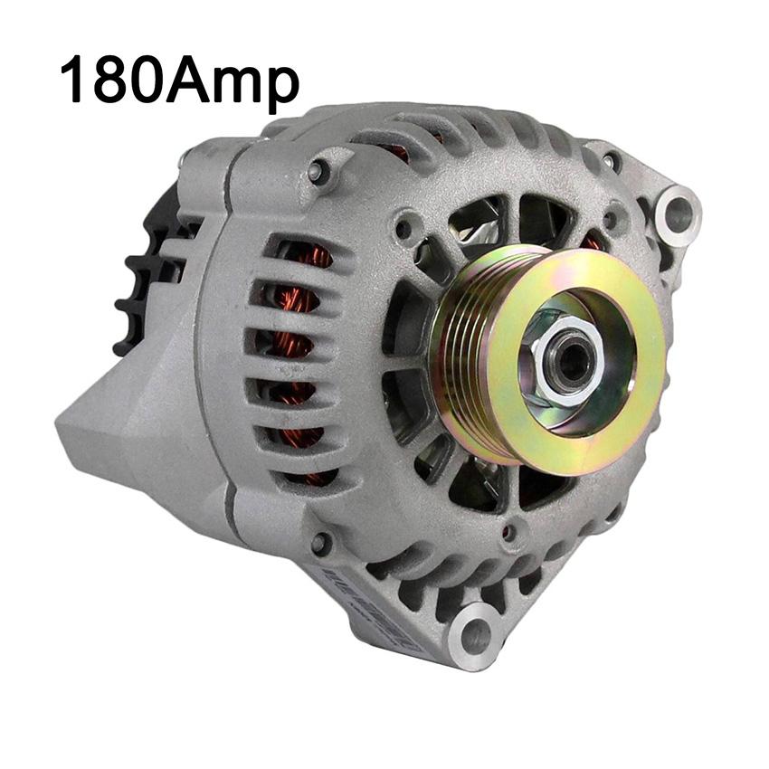 NEW 12V 180AMP ALTERNATOR FITS CHEVROLET ASTRO K1500 K2500 1996-1999 8104636510