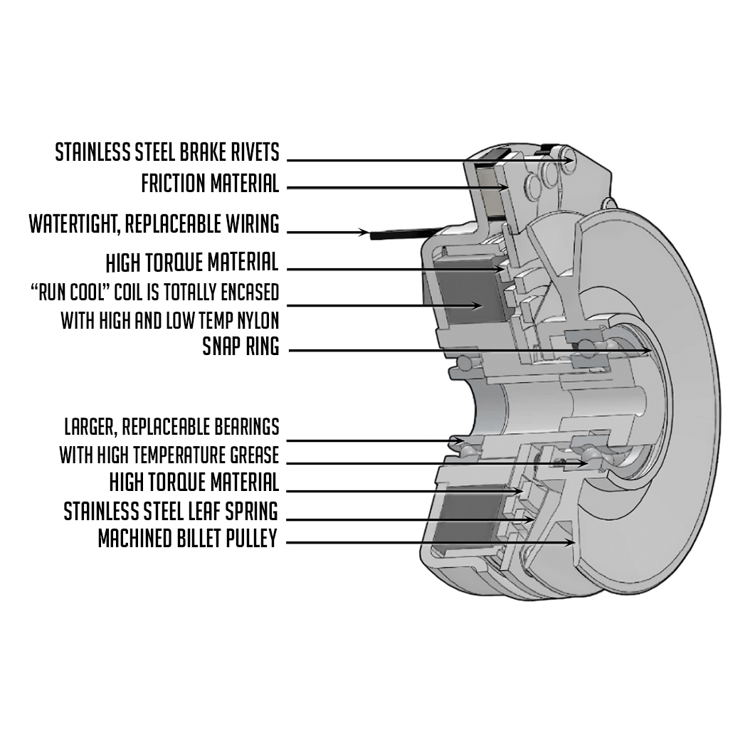 New Pto Clutch Fits Exmark Lazer Z 27hp Kohler Unit 1631731 103 0661 27 Hp Wiring Diagram Replaces Part Numbers Specifications